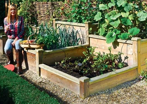 Raised Bed Kits from Harrod Horticultural