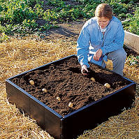 Garland 230 Litre Raised Bed - 1m x 1m
